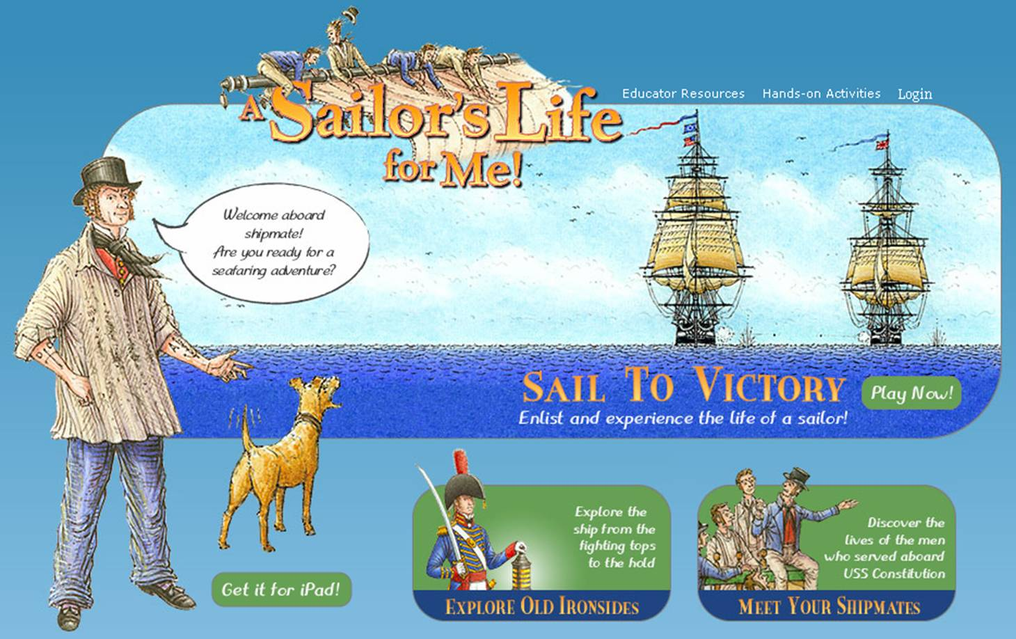 A Sailor's Life for Me