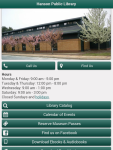 Hanson Library mobile website