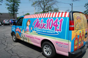 Mix 104.1 Ice Cream Truck
