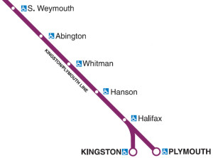 Kingston Plymouth Commuter Rail Line