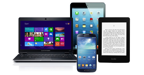 Images of mobile devices