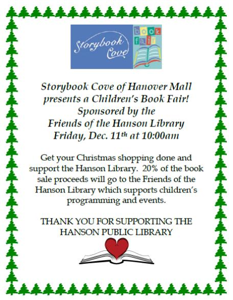 Storybook Cove presents Children's Book Fair