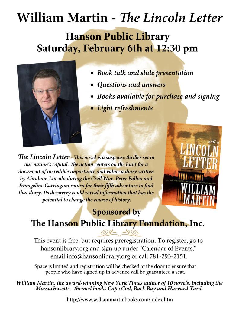 Author Talk with William Martin