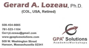 Gerard Lozeau contact information