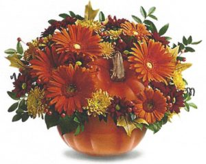 pumpkin centerpiece workshop