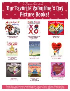 Valentine's Day Picture Books 2.4.21