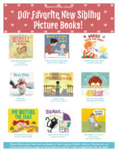 New Sibling Picture Books