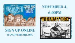 The Highwaymen: Songs and Stories Series with Matt York